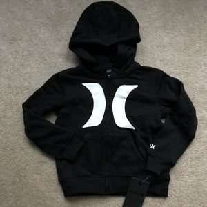 Boys size 7 Hurley hoodie NWT